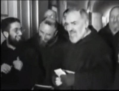Youtube / Padre Pio - Rare Footage