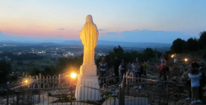 Looking out from Apparition Hill in Medjugorje. / Kristine Full, Flickr, CC BY-SA 2.0